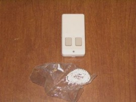 FA203D Inovonics two button pendant transmitter (refurbished)