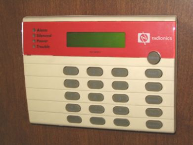bosch alarm panel instructions